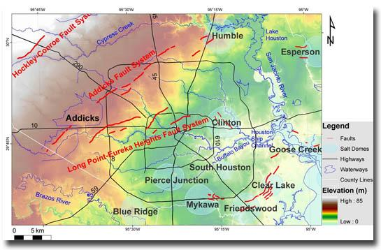 Fault Lines Under Houston Texas Nature In The News